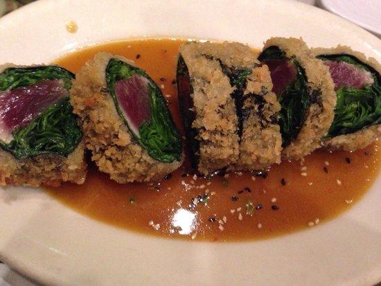 Sansei Seafood Restaurant: Ahi Sashimi rolls from Lahaina award menu
