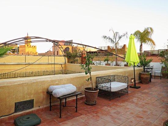 Dar Limoun Amara: terraza