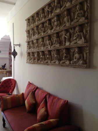Pan Dei Palais : salon d'entrée