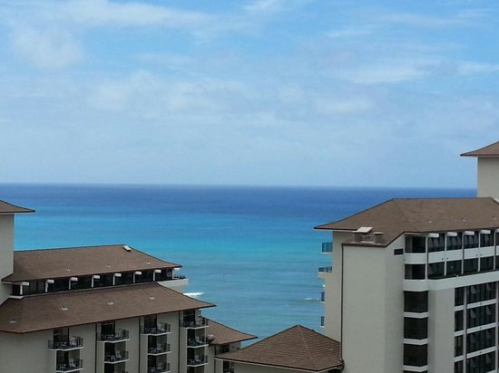 Trump International Hotel Waikiki: Our view from lanai RM 1912