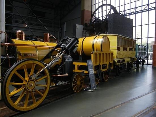 National Railway Museum: stephenson's rocket