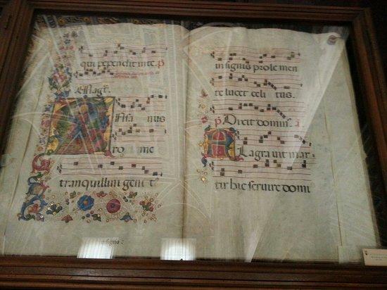 Biblioteca Piccolomini: Uno dei libri sacri