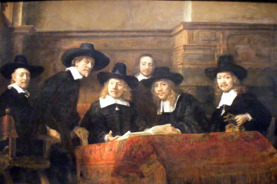 Rijksmuseum: The Guild of Amsterdam Drapers [Rembrandt}