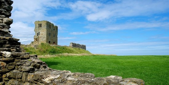 Scarborough Castle: In the castle grounds