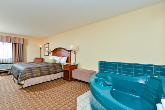 Best Western Plus Meridian: King Spa Suite