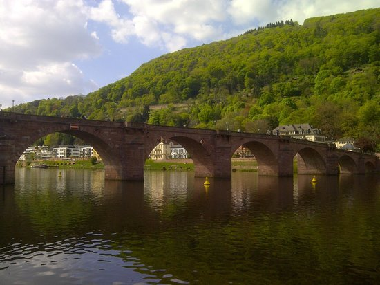 Carl Theodor Old Bridge (Alte Brucke): view from a distance