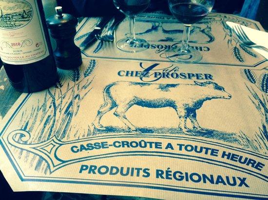 Chez Prosper : placemate