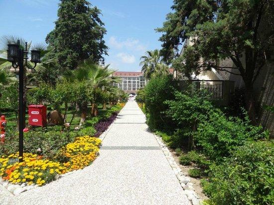 Paloma Oceana Resort: walking the resort
