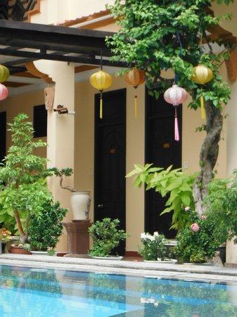 Hoi An Glory Hotel & Spa: pasillo