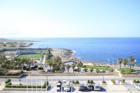 Corinthia Hotel St. George's Bay: view from room