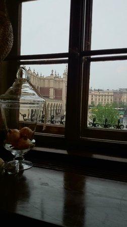 Hotel Wentzl : Vista desde la ventana de restaurante