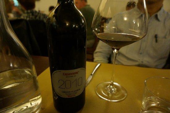 La Taverna di San Giuseppe: ボトルでオーダーしたワイン