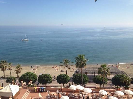 Hotel Fuerte Marbella: View from our room