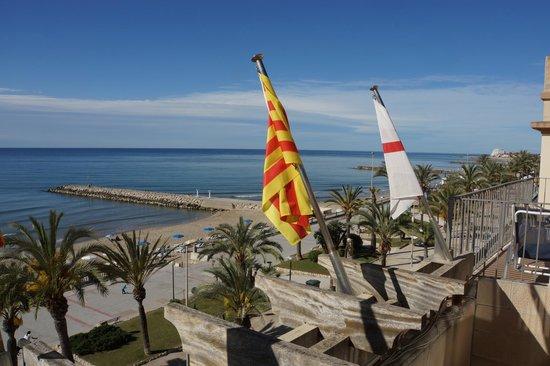 Hotel La Santa Maria : View from the room's balcony