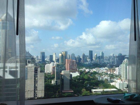 The Okura Prestige Bangkok: The view from the room