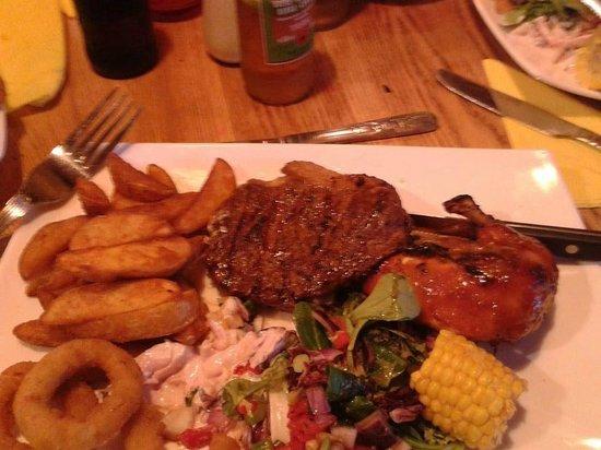 El Gringo's: Delicious rack of ribs