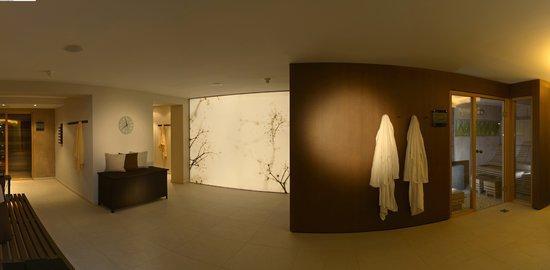 Hotel Patrizia Wellness & SPA: Saunabereich