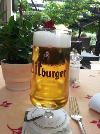 Hotel Unter den Linden Restaurant: На столе