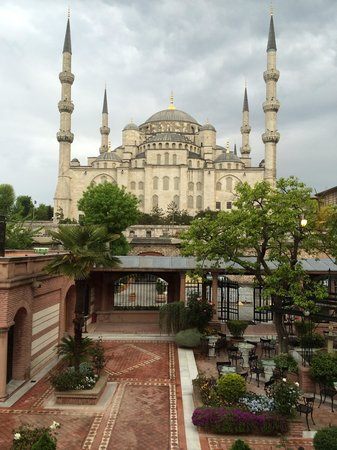 Sultanahmet Palace Hotel: View from balcony