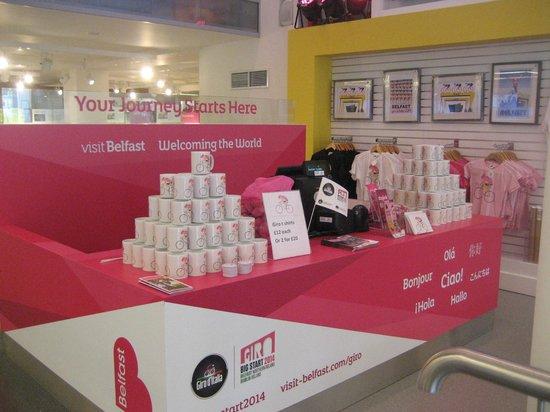 Visit Belfast Welcome Centre: Giro 2014