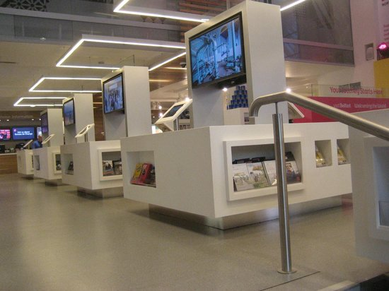 Visit Belfast Welcome Centre: All modern now