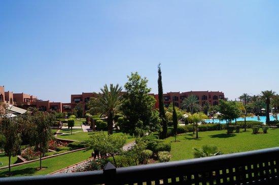 "SENTIDO Kenzi Menara Palace: Vue de notre balcon ""suite n°259 vue piscine"""