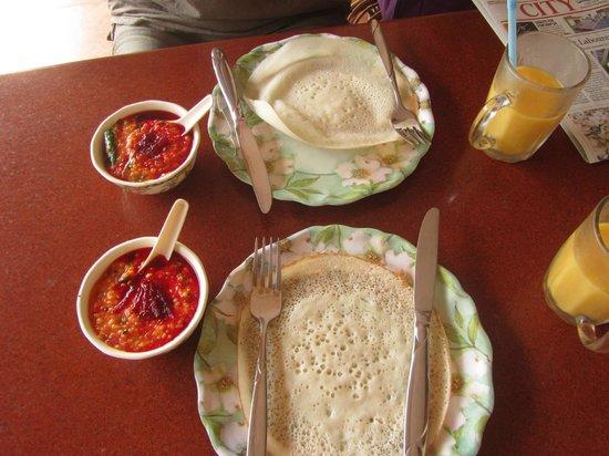 Sajhome: Petit déjeuner
