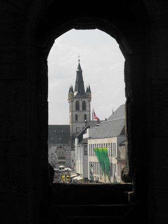 Porta Nigra: Вид сверху