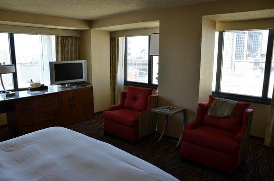 San Francisco Marriott Marquis : corner suites give best views