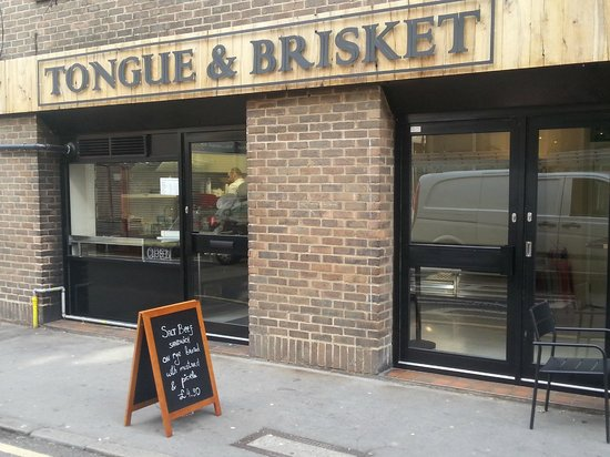 Photo of Fast Food Restaurant Tongue & Brisket at 24-26 Leather Lane, London EC1N 7SU, United Kingdom