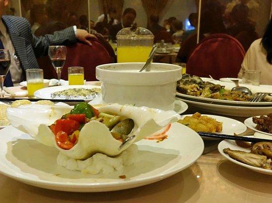 Taipei International Hotel : ディナー