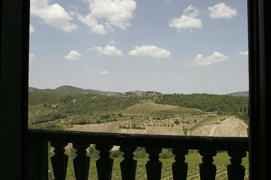Villa  Vistarenni: landscape