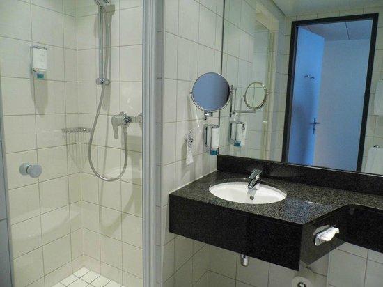 Dorint An der Messe Basel: kleines, aber sauberes Bad