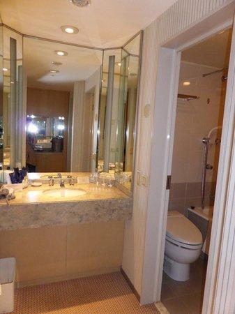 Hotel New Grand : きれいな洗面台です