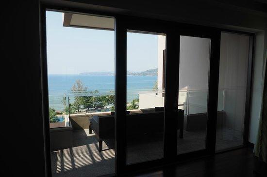 Hyatt Regency Phuket Resort: nice balcony with sea view