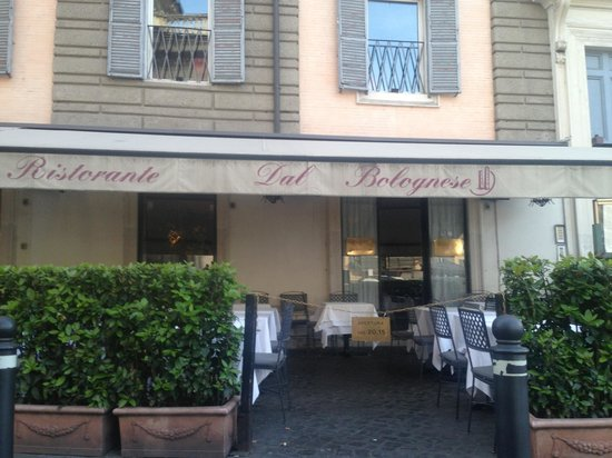 Dal Bolognese: Street view