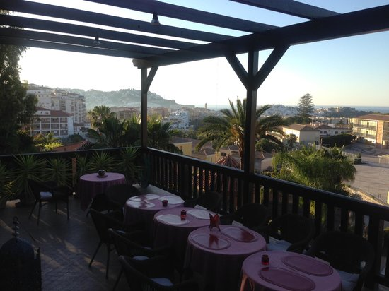 Hotel California: The view from the terrace