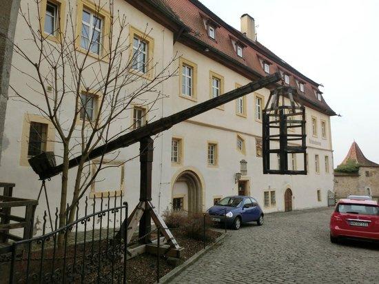 Mittelalterliches Kriminalmuseum: 水没式拷問器具