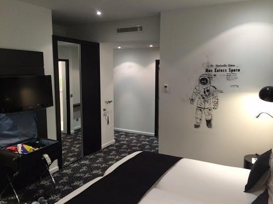 Comfort Hotel Centre Del Mon: schlafzimmer