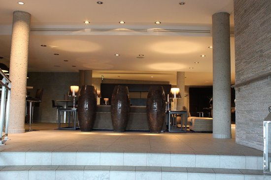 Spa Marin du Val Andre : hall d'entrée