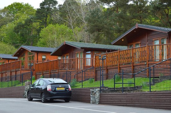 White Cross Bay Holiday Park: the lodge