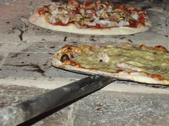 A RUSTA : pizza