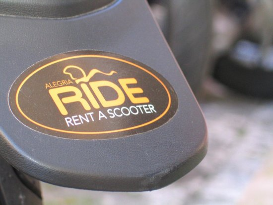 AlegriaRide Rent-a-Scooter