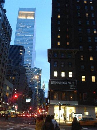 Renaissance New York Hotel 57 : Вид на отель
