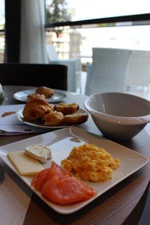 Spa Marin du Val Andre : petit déjeuner