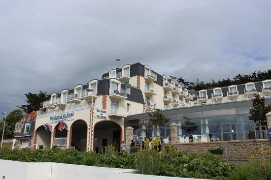 Spa Marin du Val Andre : vue hotel