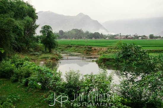 Mai Chau Nature Place: view from bungalow