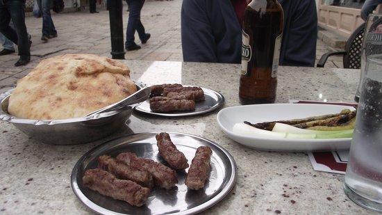 Destan: Kebabs & roasted peppers