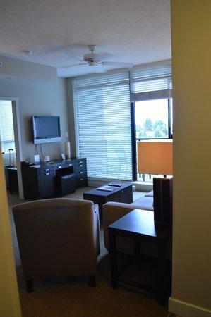 The Oswego Hotel: Living Rm and balcony