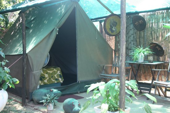 Victoria Falls Backpackers: Safari Twin tents